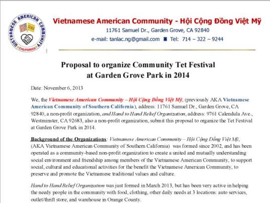 VAC-Proposal
